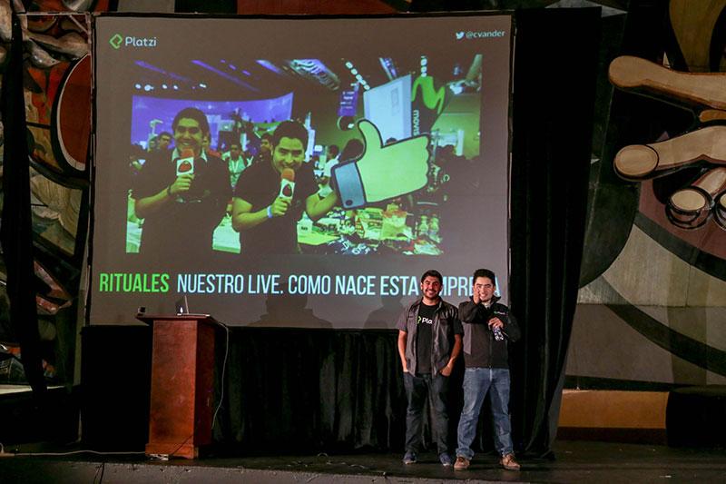 Christian y Freddy, fundadores de Platzi