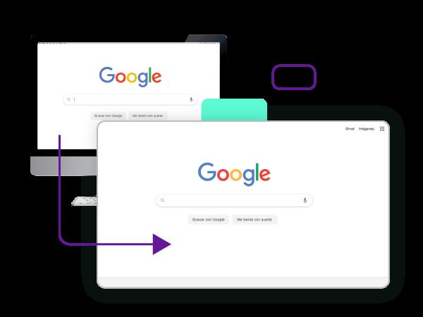 Clon de Google