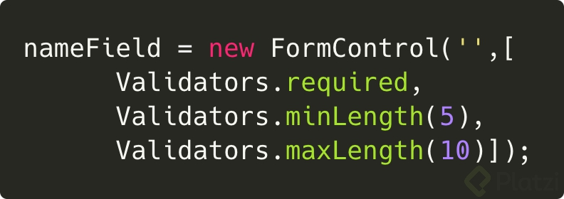 angular forms validaciones